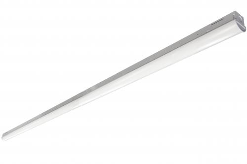 8 FT LED Covered Slim Strip Light - 65W - Up to 8,135 Lumens - cETLus Listed - Dimmable - 35K/4K/5K - 120-277V