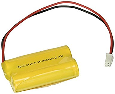 2.4 Volt Nickel Cadmium (Ni-Cd) Battery