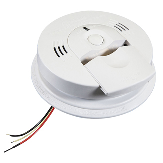 Kidde Hardwired Combination Carbon Monoxide & Smoke Alarm