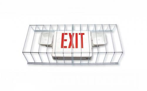 Wire Guard for Exit & Emergency Light Combo Units