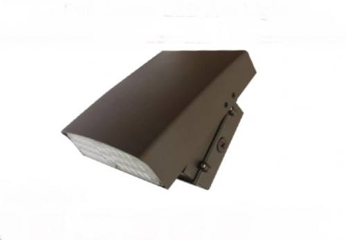 LED Adjustable Wall Pack - 80W - Up to 9,241 Lumens - FULL CUTOFF - DLC Standard - UL Listed - 3K/4K/5K - 120-277V