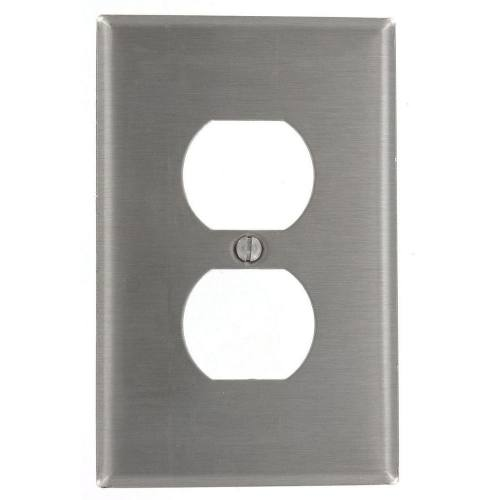 1 Gang Stainless Steel Plate
