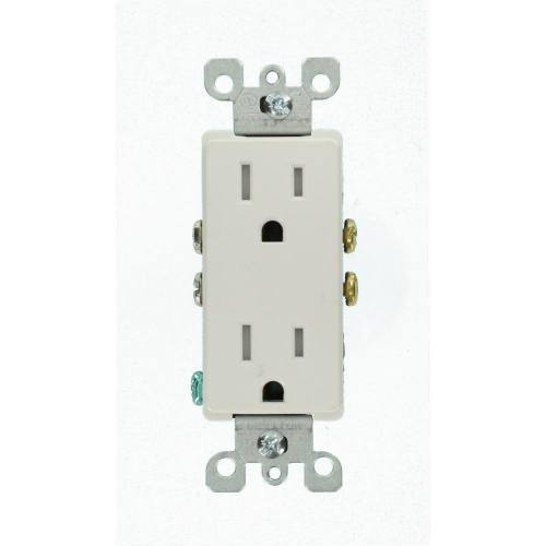 15 AMP Decora Receptacle