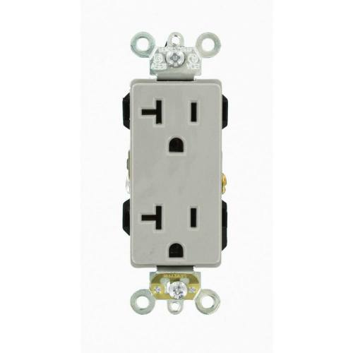 20 AMP Industrial Grade Decora Receptacle
