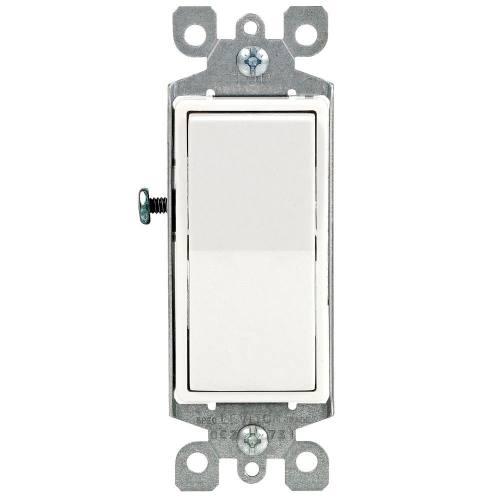 15 AMP Single Pole Decora Switch
