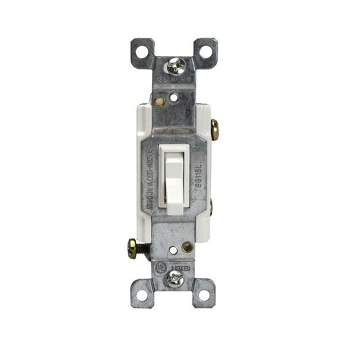 15 AMP Single Pole Toggle Switch