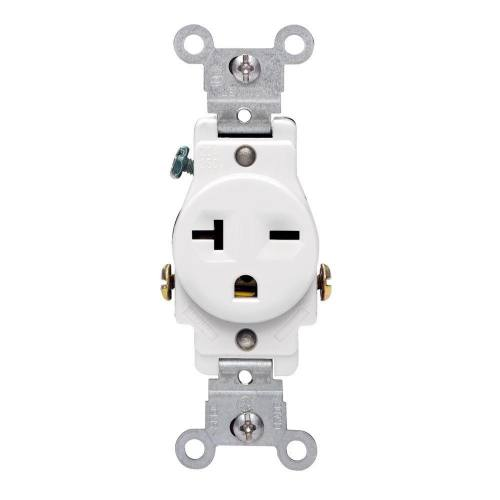 20 AMP Standard Single Receptacle