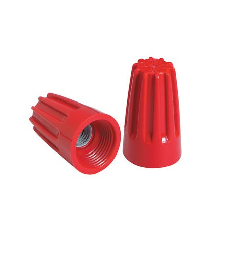 Red Barreled Wire Connector - 500 Count