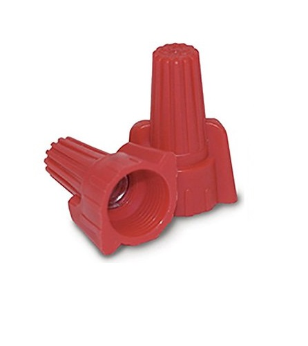 Red Winged Wire Connector - 500 Count