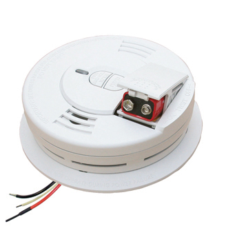 Kidde AC Hardwired Smoke Alarm with 9V Battery Backup