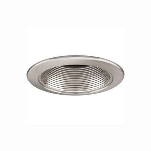 Recessed Trim - Satin Nickel Baffle 75W/R30 - 6 Inch