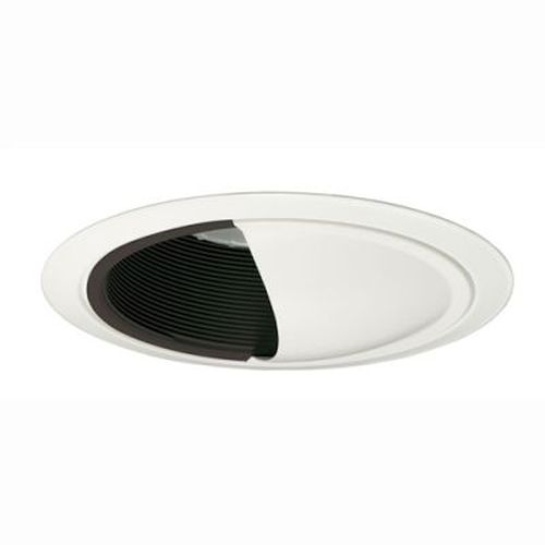Recessed Trim - Wall Wash/ Black Baffle 75W/R30 - 6 Inch