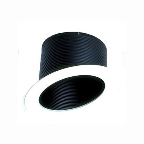 Recessed Trim - Black Sloped Stepped Baffle - 5/6 Inch
