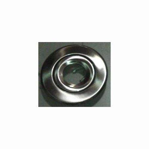 Recessed Trim - Satin Nickel Gimbal Ring Trim - 6 Inch