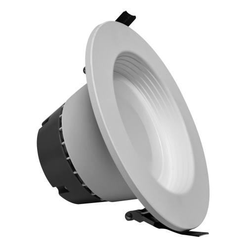 6 Inch LED Architectural Recessed Retrofit Trim - Able to wire direct to JBOX - 17W - 1,500 Lumens - Energy Star Rated - ETL Listed - Dimmable - 35K/5K - 120-277V