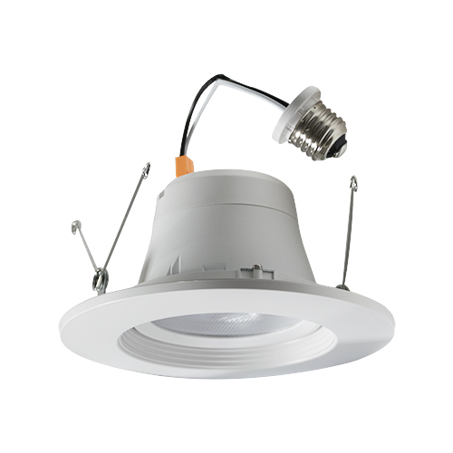 5/6 Inch LED Gimbal Recessed Retrofit Trim - 14W - Up to 1,050 Lumens - Energy Star Rated - ETL Listed - Dimmable - 27K/3K/4K - 120V