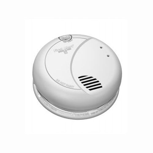 Photoelectric Smoke Alarm w/ 9V Battery Backup - 110V