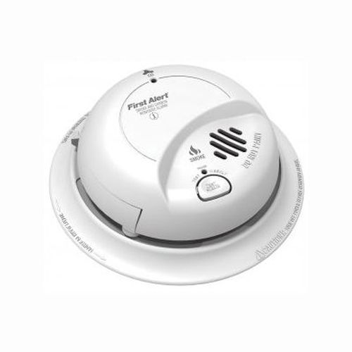 Ion/CO Alarm Combo 110V w/ 9V Battery Backup