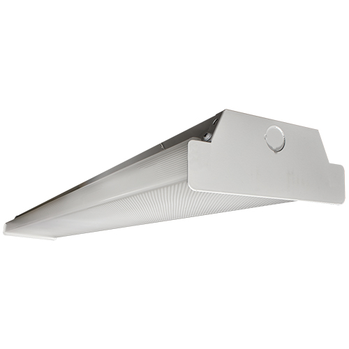 LED 4 Ft Wrap Around Light Fixture - 40W - Up to 5,240 Lumens - DLC Premium - UL Listed - Dimmable - 35K/4K/5K - 120-277V