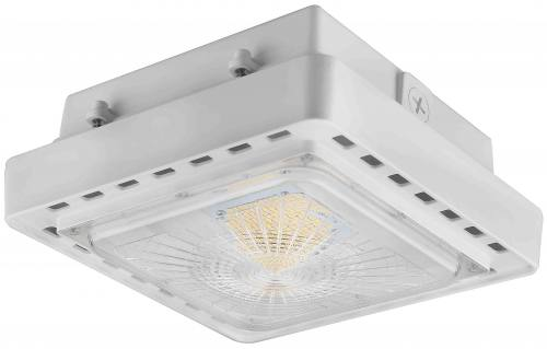 LED Canopy Light - 40W - 5,024 Lumens - UL Listed - 4K/5K - 120-277V