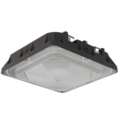 LED Canopy Light - 45W - 4948 Lumens - DLC Standard - UL Listed - 5K  sc 1 st  Cost Less Lighting : canopy light - memphite.com