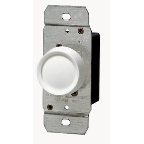 Rotary Push Dimmer - 600w 3 Way