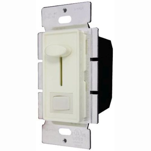 Single Pole SW/Lighted 700w Slide DIMMER LED/on/off/