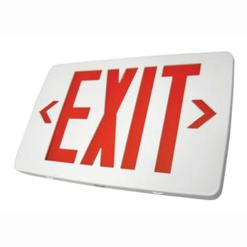 Thin Thermoplastic LED Exit Sign