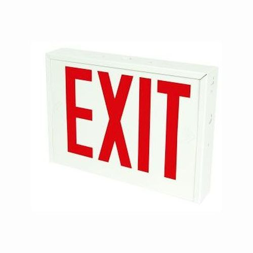 LED Exit Sign, NYC Approved, Battery Backup