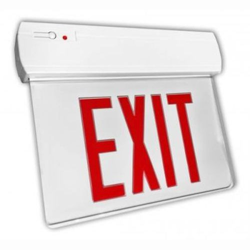 LED Edge Lit Exit Sign - Economy