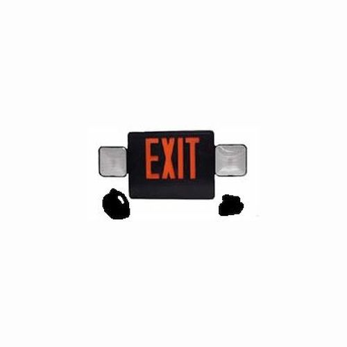 Exit / Emergency Combo- Remote Capable- Red/ Black