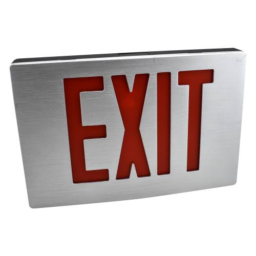 Die-Cast Aluminum LED Exit Sign