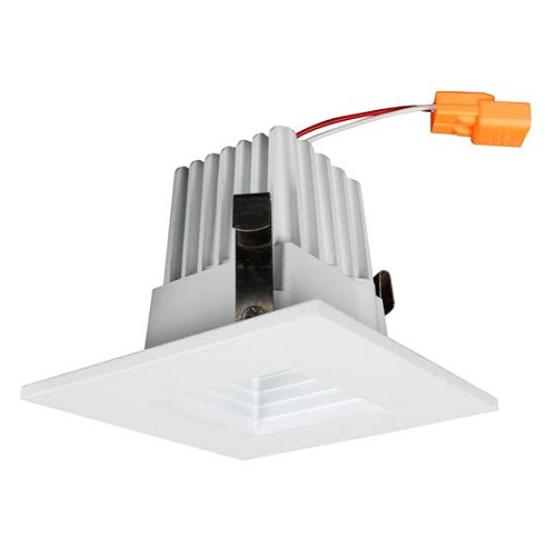 2 Inch LED Square Baffle Retrofit Kit - 8W - 636 Lumens - Energy Star Rated - UL Listed - 3K - 120V
