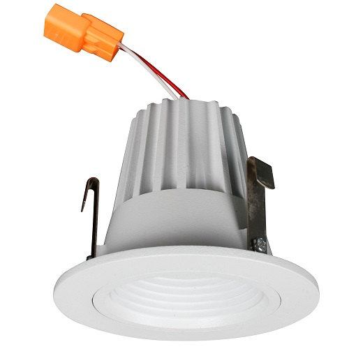 2 Inch LED Baffle Retrofit Kit - 8W - 620 Lumens - Energy Star Rated - UL Listed - 3K/35K/4K - 120V