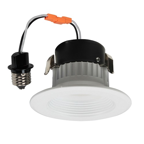3 Inch LED Baffle Retrofit Kit - 9W - 560 Lumens - Energy Star Rated - UL Listed - 3K - 120V
