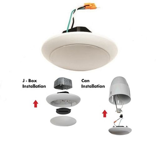 Junction Box LED Downlight