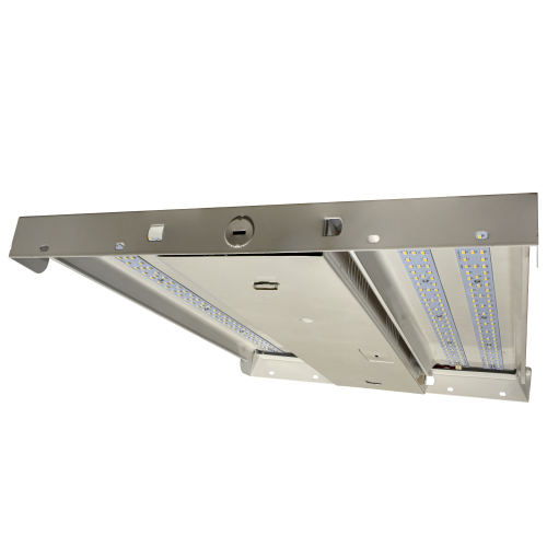 LED Low Profile High Bay - 100W - Up to 13,910 Lumens - DLC Premium - ETL Listed - Dimmable - 4K/5K - 120-277V
