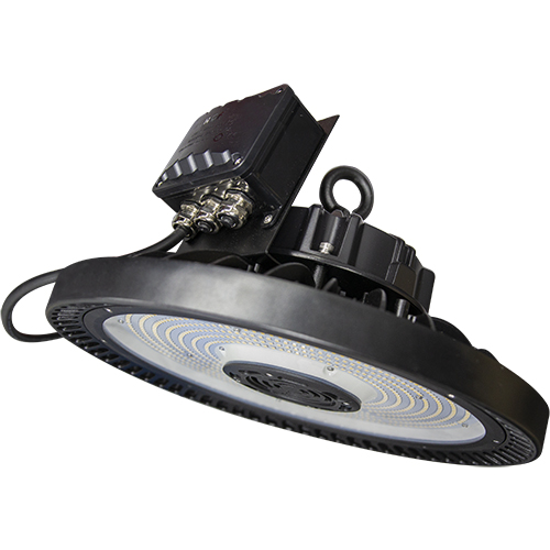 LED Premium Round High Bay - 100W - Up to 13,116 Lumens - DLC Approved - UL Listed - Dimmable - 4K/5K
