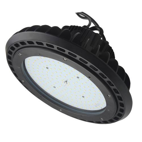 LED Round High Bay - 150W - Up to 18,450 Lumens - DLC Approved - UL Listed - Dimmable - 4K/5K - 120-277V