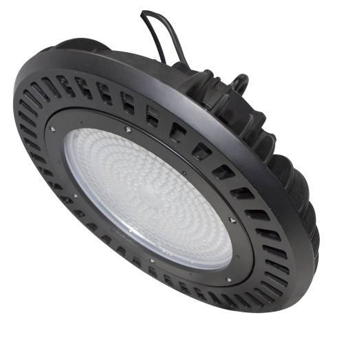 LED Round High Bay - 240W - Up to 29,628 Lumens - DLC Approved - UL Listed - Dimmable - 4K/5K - 120-277V