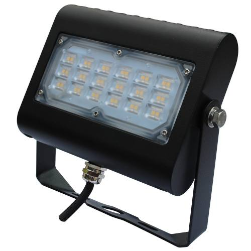 Multi-Purpose LED Area Light - 30W - Up to 3,718 Lumens - Knuckle or Yoke Mount Option - DLC Standard - UL Listed - 3K/4K/5K - 120-277V
