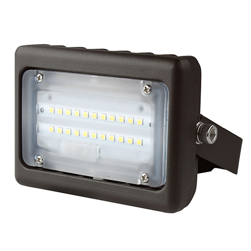 PREMIUM Multi-Purpose LED Area Light - 15W - Up to 1,624 Lumens - Knuckle or Yoke Mount Option - UL Listed - 3K/4K/5K - 120-277V