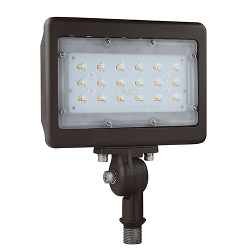 PREMIUM Multi-Purpose LED Area Light - 30W - Up to 3,482 Lumens - Knuckle or Yoke Mount Option - DLC Premium - UL Listed - 3K/4K/5K - 120-277V