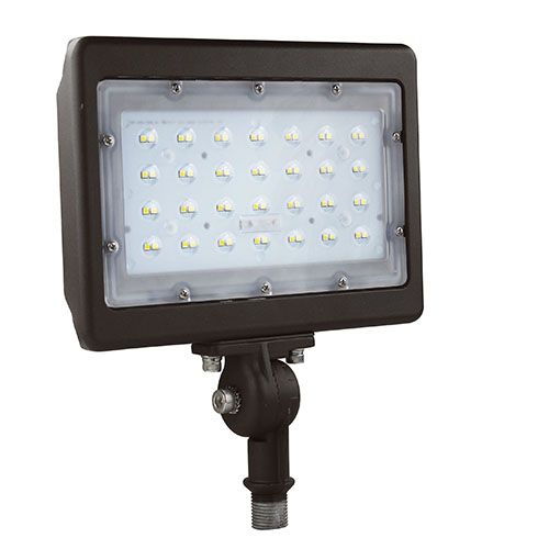 PREMIUM Multi-Purpose LED Area Light - 50W - Up to 5,793 Lumens - Knuckle or Yoke Mount Option - DLC Premium - UL Listed - 3K/4K/5K - 120-277V