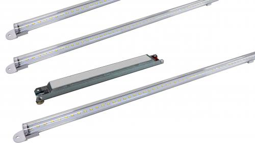 4FT Magnetic LED Strip Retrofit Kit - 32W to 50W - Up to 7,050 Lumens - DLC Approved - ETL Listed - 3K/35K/4K/5K - 120-277V