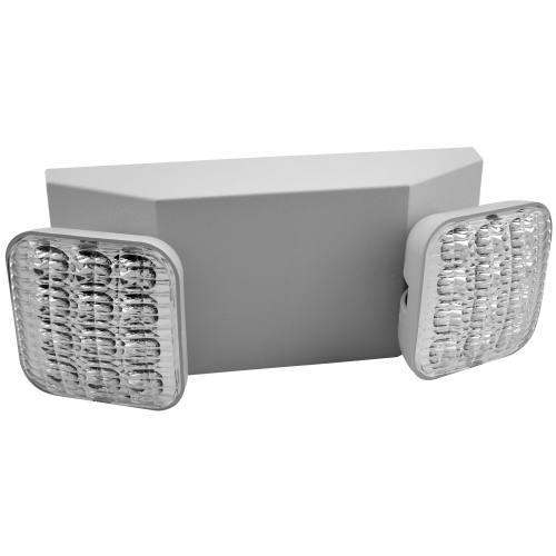 LED 2-Head Emergency Unit - 2W - UL Listed - 120-277V
