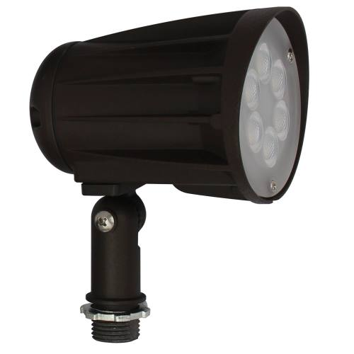 LED Security/Landscape/Flood Light - 15W - Up to 1,700 Lumens - Knuckle Mount Included - 30 Degree Beam Angle - DLC Standard - UL Listed - 3K/5K - 100-277V