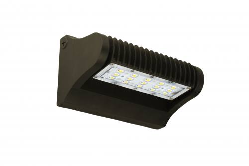 LED Adjustable Wall Pack - 25W - 3,325 Lumens - DLC Premium - UL Listed - 4K/5K - 120-277 Volt