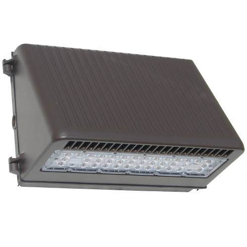 LED Full Cutoff Wall Pack - 50W - Up to 5,798 Lumens - DLC Premium - UL Listed - 3K/4K/5K - 120-277V