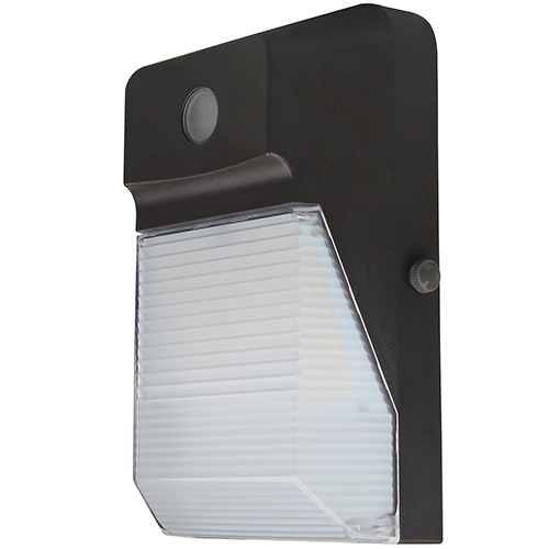 LED Wall Pack with Photo Cell - 20W - 2,147 Lumens - UL Listed - 3K/4K/5K - 120-277V